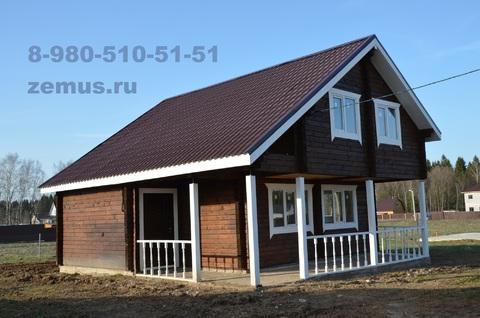Новый дом в Можайском р-не, д. Лыткино, 88 км от Москвы по Минскому ш