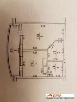 1-комнатная квартира, 40 кв.м., в ЖК «Новое Измайлово»