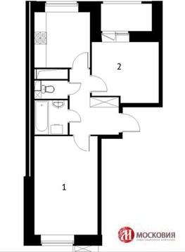 """2-комнатная квартира, 45 кв.м., в ЖК """"Солнечная система"""""""