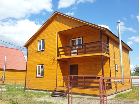 Продается новый дом 130м2 на 5,3 сот в с. Речицы, Раменский район