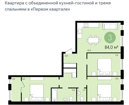 Продажа квартиры, Видное, Д. Сапроново, Ленинский район