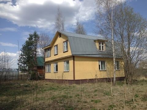 Дом из бруса на берегу Рузского водохранилища