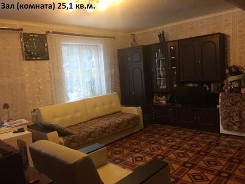 5ти комнатная квартира, прилегающим участком.