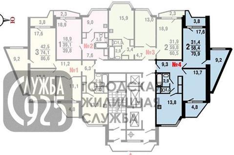 2-к Квартира, Новое шоссе, 12к2