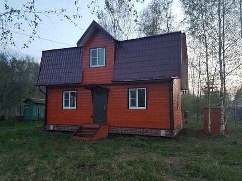 Новый дом 100 м2 у Леса, СНТ Горизонт