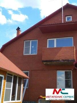 Дом 220м2 с участком 9 сот. в городе Железнодорожный д.Пуршево