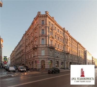 Четырехкомнатная квартира 305 кв.м Остоженка 7 (ном. объекта: 7243)