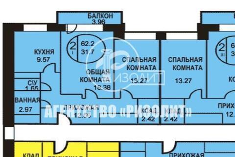 Продается двухкомнатная квартира на восьмом этаже 17 этажного монолитн