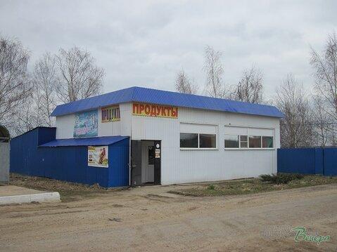 Магазин в деревне.