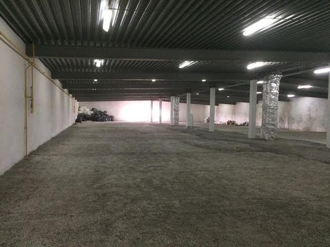 Сдаю 1300 кв.м. отапливаемого производственно-складского помещения