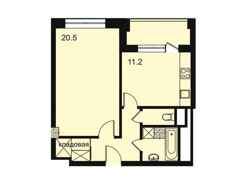 """Продается 1-к. квартира, 46,1 кв.м. в ЖК """"Парк Легенд"""""""