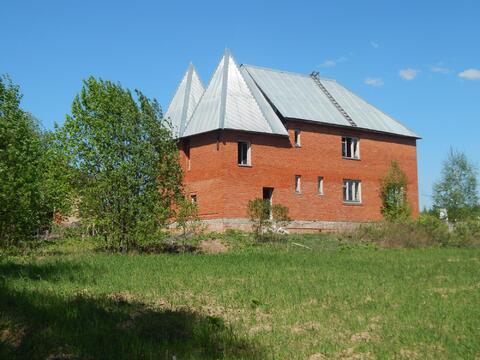 Дом 220 кв.м на 30 сот. рядом с лесом д.Лобково