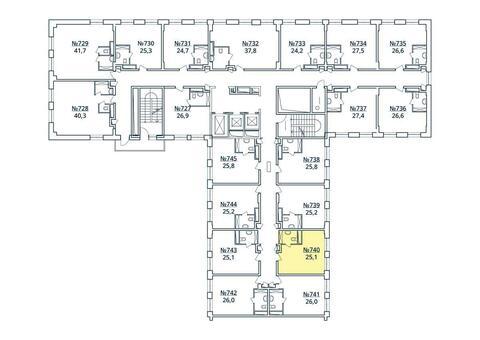 Москва, 1-но комнатная квартира, ул. Радиальная 6-я д.7, к 35, 2747471 руб.