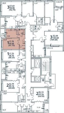 Москва, 1-но комнатная квартира, ул. Радиальная 6-я д.7, 4592925 руб.