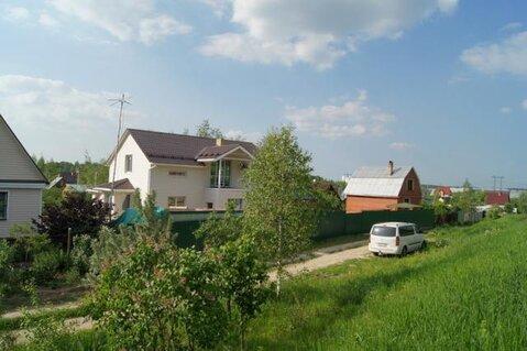 Отапливаемый дом под чистовую отделку в жилой деревне.