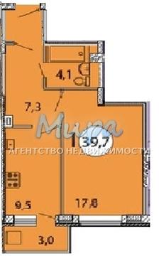 1-комнатная квартира, 40 кв.м., в ЖК «Президентский»