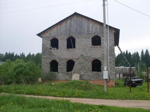Срочно продается недостроенная дача в СНТ Бабаево, Рузский р.