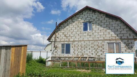 Дом без отделки в поселке