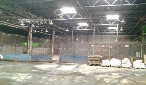 Холодный склад, площадка площадью 1430 кв.м. на 1 этаже.