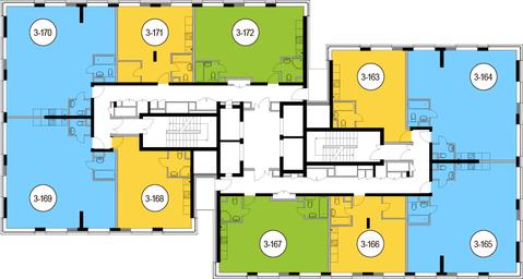Москва, 3-х комнатная квартира, Головинское ш. д.10, 14847300 руб.