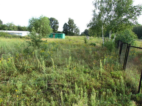 Продается земельный участок в поселке Редькино Озерского района