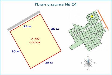 Участок 7,4 соток в новом кп, ипотека, 10 км от ЗЕЛАО г. Москвы