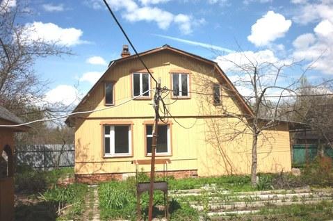 Дом 102 кв.м, кирпич, зем.уч 6 сот, СНТ Березка, Серги-Посад р-н, 83 км