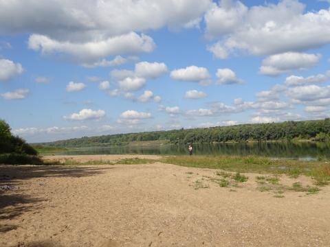6 соток на р. Ока в Серпуховском районе рядом с ж.д.ст 107 км, 500000 руб.
