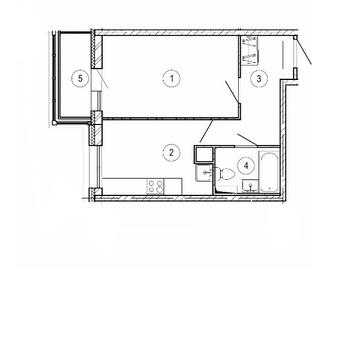 Красногорск, 1-но комнатная квартира, ул. Крайняя д.1, 3130000 руб.