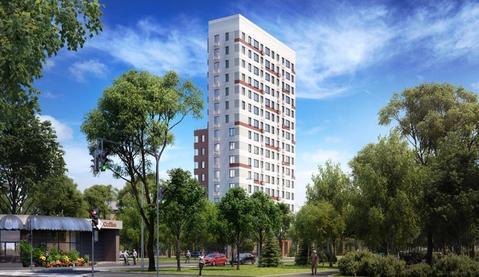 2-комн. кв. 52,05 кв.м. в стильном доме бизнес-класса СЗАО г. Москвы