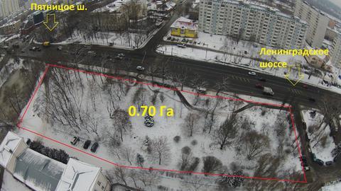 Участок под ТЦ в Солнечногорске 1-ая линия Лен.ш