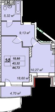 Солнечногорск, 1-но комнатная квартира, ул. Обуховская д.50, 2504880 руб.