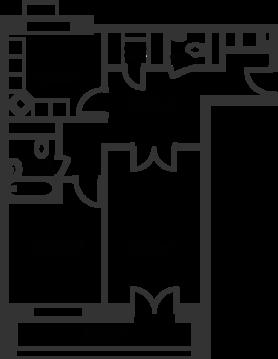 Москва, 2-х комнатная квартира, ул. Фабрициуса д.18 стр. 1, 13491083 руб.