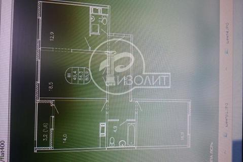 """3-комнатная квартира, 86 кв.м., в ЖК """"ЛУЧИ"""""""