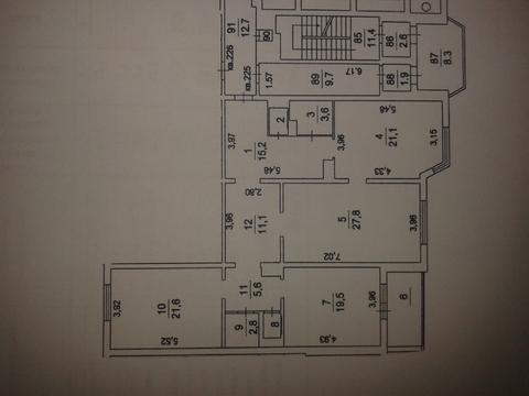 """3-комнатная квартира, 133 кв.м., в ЖК """"Град Московский"""""""