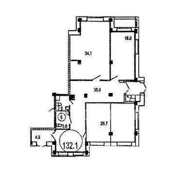 Предлагаем купить комерческое помещение, расположенное на первом этаж