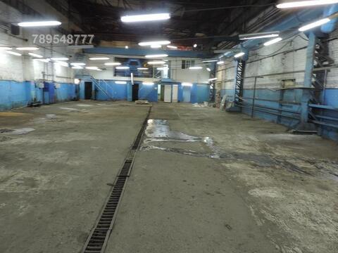 Теплое складское помещение на территории бывшего завода Компрессор
