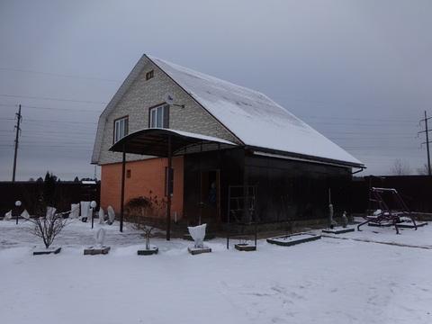 2 эт. кирпичный дом 150 кв.м. в д. Паниково, Серпуховского района.