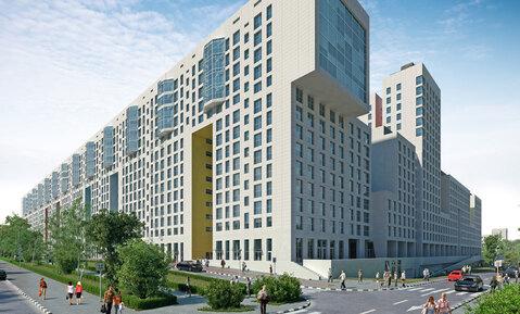 """1-комнатная квартира, 44 кв.м., в ЖК """"Акварели"""""""