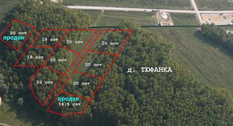 Продаются красивейшие лесные участки в д. Тюфанка