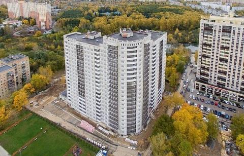 1 комнатная квартира в доме бизнес-класса в самом центре г. Пушкино
