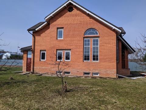 Продам 3-х этажный кирпичный дом в д.Сераксеево, Серпуховского р-на, М/О