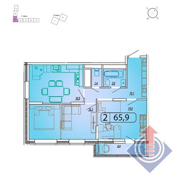 Мытищи, 2-х комнатная квартира,  д., 5601500 руб.