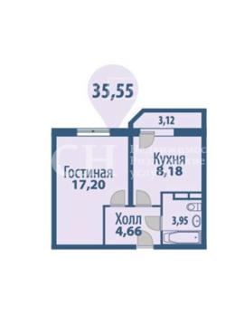 Щелково, 1-но комнатная квартира, Фряновское ш. д.64/2, 2250000 руб.