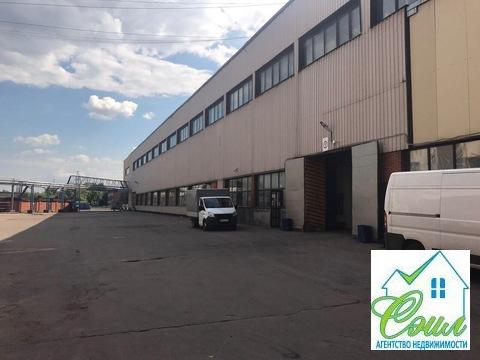 Производственно-складское помещение 3000 кв.м. м.Каширская.