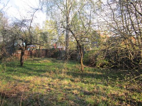 Продается земельный участок со старым домом в м-не Звягино Пушкинский