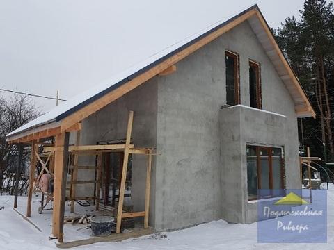 Новый современный дом 120 м2 с отоплением
