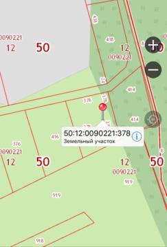 Участок Московская область Мытищинский район д.Болтино