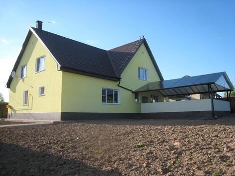 Коттедж в охраняемом поселке в районе д.Тюфанка Чеховского района