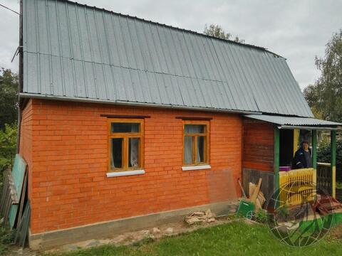 Дом в СНТ Кузнечики, обложен кирпичем на участке 6,5 соток